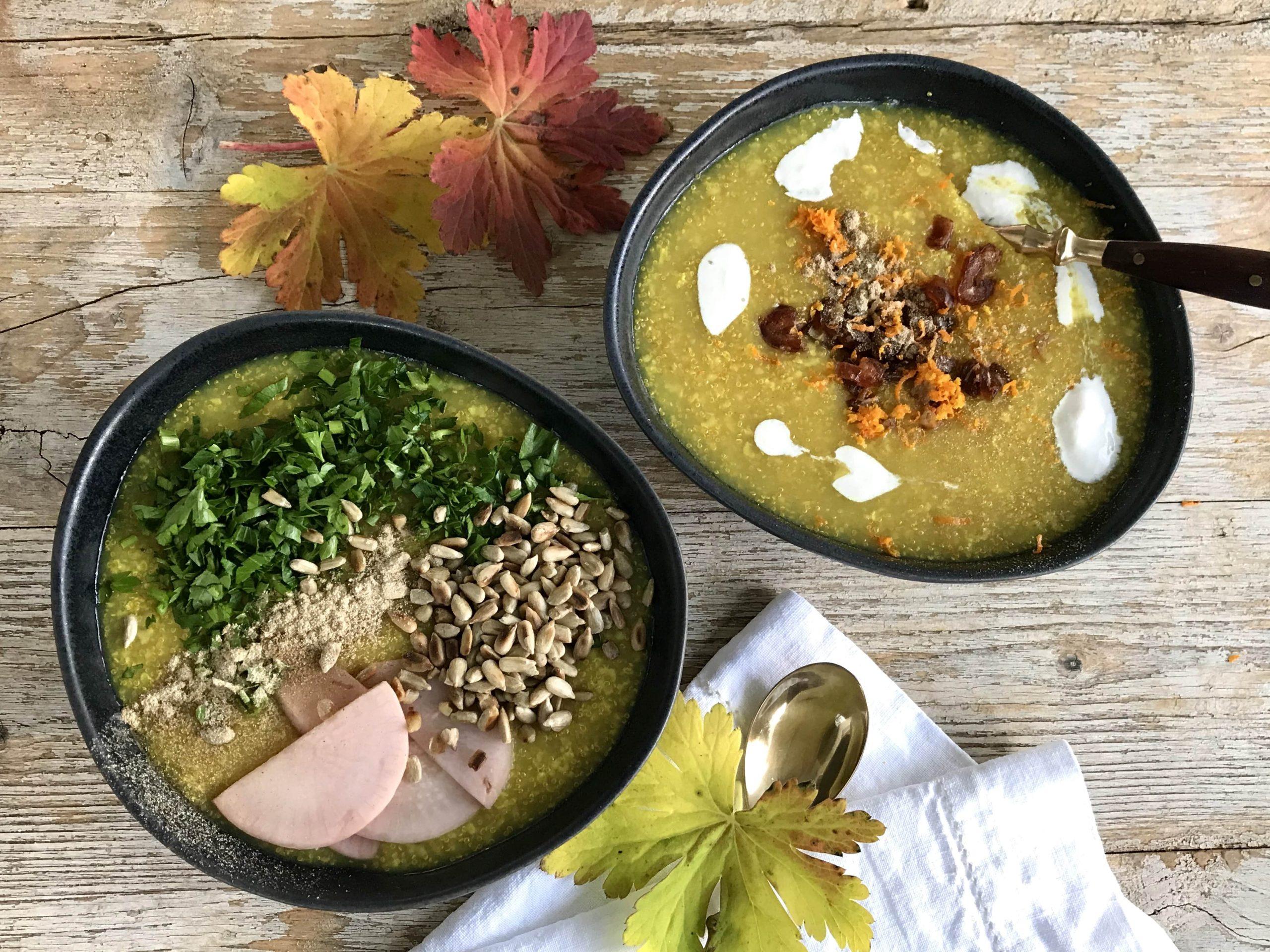 Ayurvedic Kanji or congee recipe