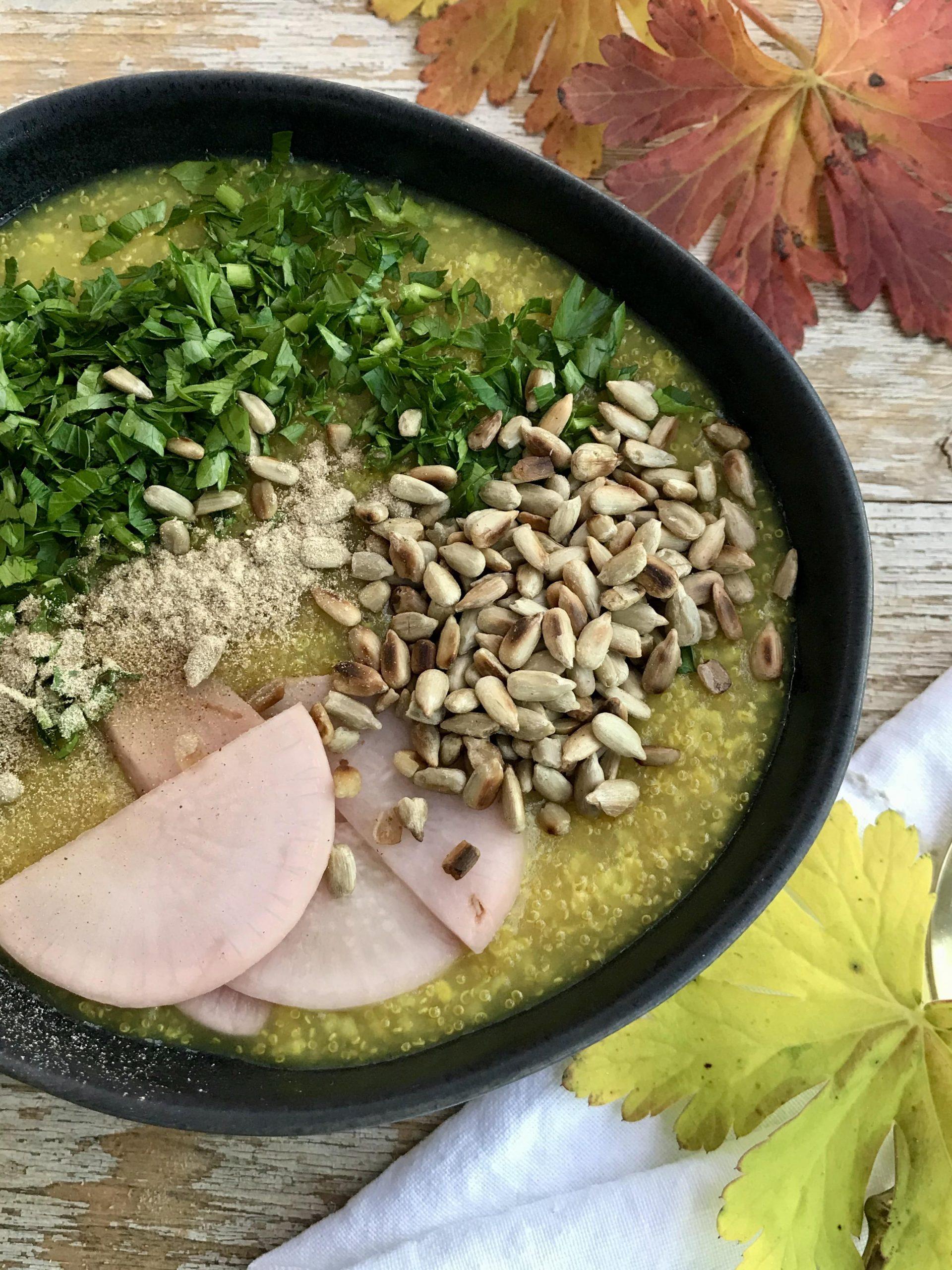 Turmeric congee