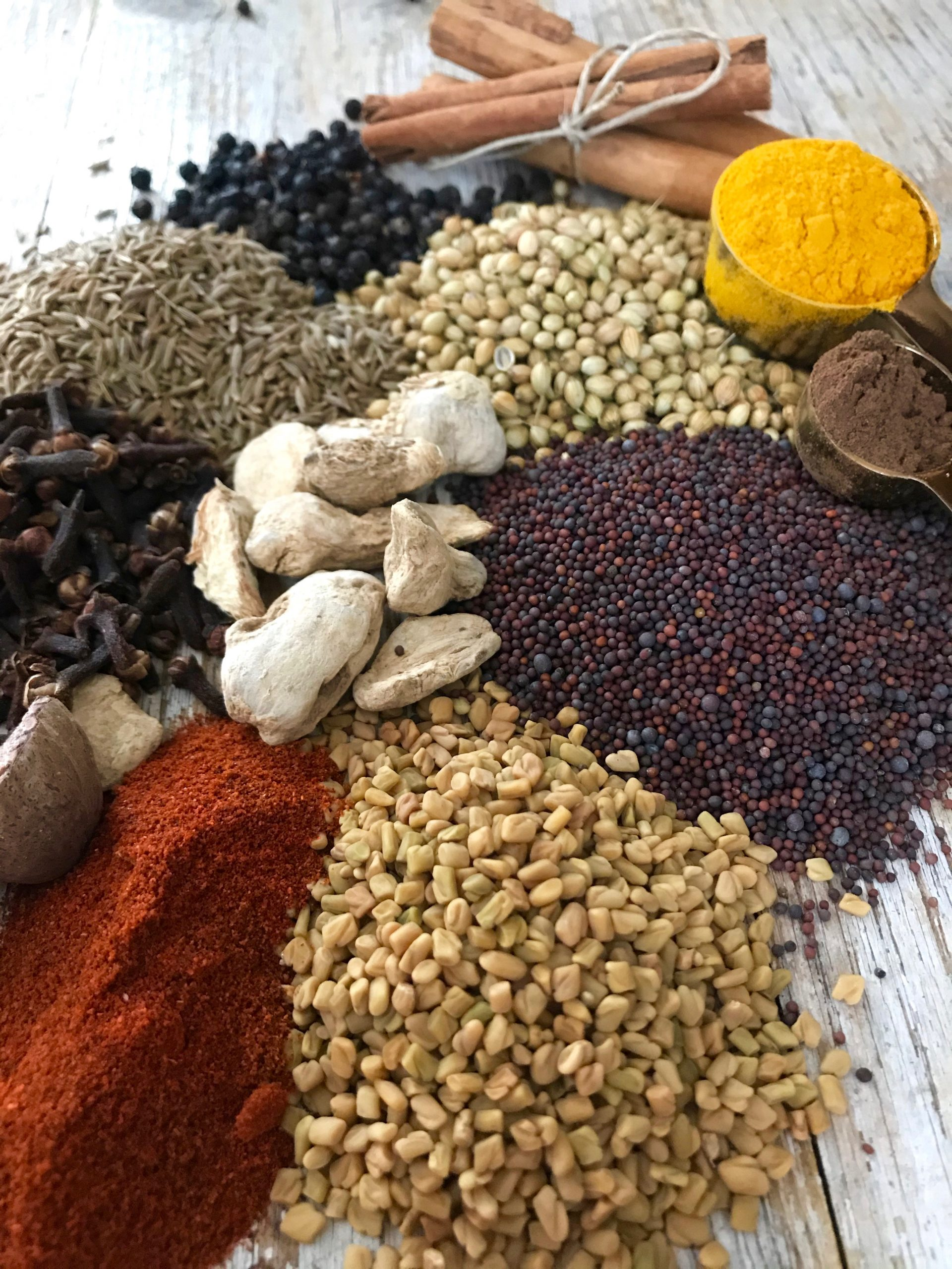How to cook with spices