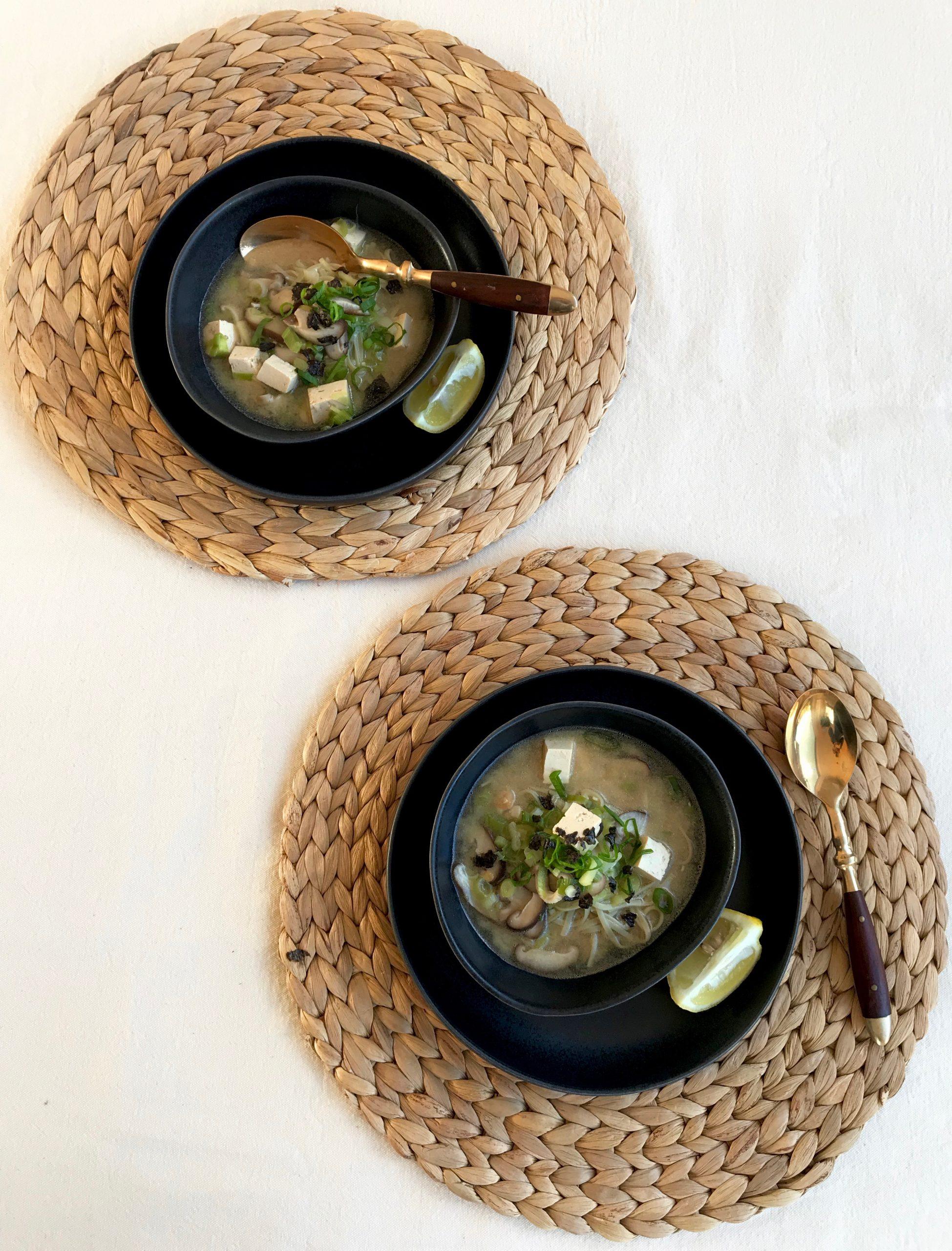 Miso broth recipe